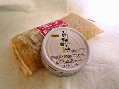 マグロ缶で!「簡単♪ツナと糸こんにゃくの煮物」