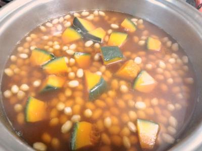 栄養たっぷり大豆の煮物