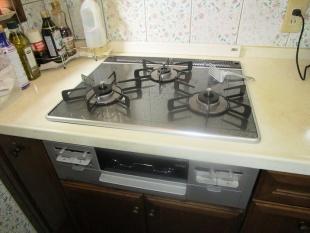 ガスコンロを取り換えて料理の効率もUP!!