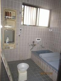 タイル貼りからおしゃれで温かい浴室へ
