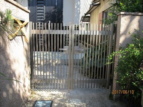 ヤマハナの現場から! 門扉の取替工事の完成