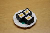 お寿司 ~LaQ~ 「御新香巻き」たくあん 2017/05/09 21:56:45