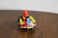 忍者GO ~LEGO~ 忍者が乗り物に乗ってます