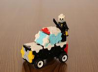 パトカー 警察車両 ~LaQ~ 乗り物編 LEGO乗せてみました。 2017/04/09 22:23:00
