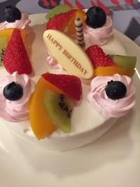 誕生日ケーキ*ディズニー