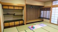 高岡コミュニティの広くて立派な和室で初めてのルーシーダットン♪