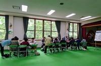 古瀬間地区、65歳以上の皆さんの活気あふれる教室が開催されてます!