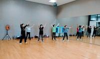 レクダンスで介護予防!ころばんレディースさんは、あいち県民健康祭に向けて頑張ってますp(^-^)q