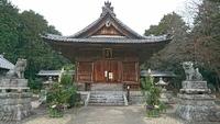 仕事始めの後は初詣、鴛鴨町・若宮八幡社に行ってきました