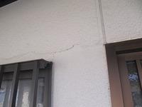 外壁にヒビ「塗っておけばよし」と 思ってる・・・