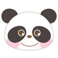 ピンクのパンダ