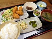 カキフライ定食!500円!